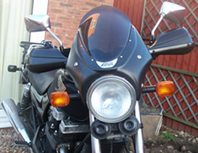 1999 Honda CB750 with S1 handguards